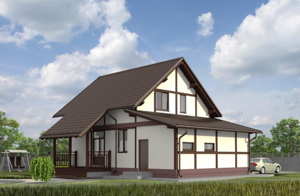 Лучший каркасный дом