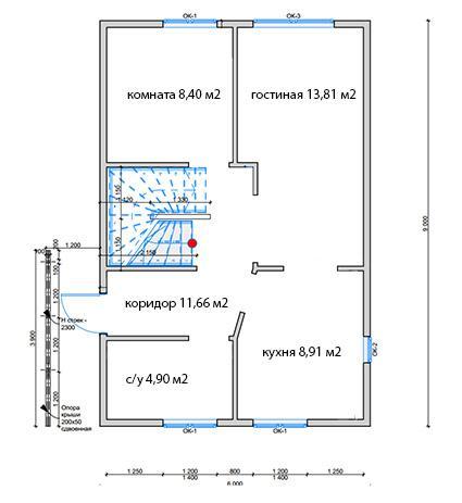 строительство каркасного дома в Павлове