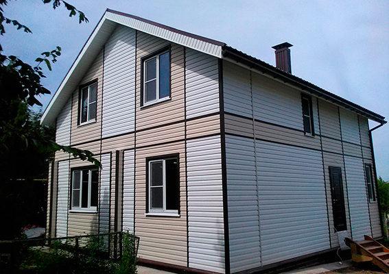 Реконструкция дома (пристрой+2 этаж) в с. Толмачево Кстовского района