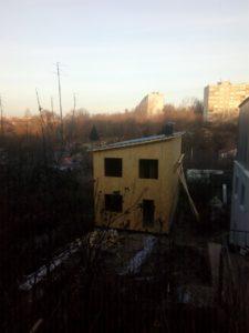 Силовой каркас жилого дома в Нижнем новгороде